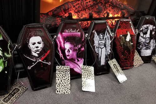 Coffin shaped wallets