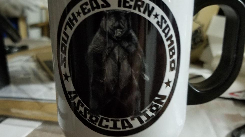 Custom aluminum travel mug!