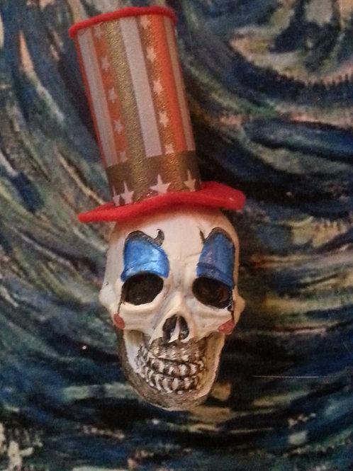 Captain Spaulding skull magnet