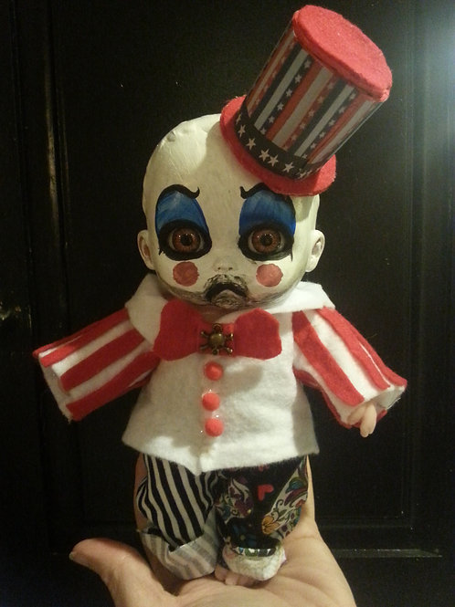 Cute little Captain Spaulding doll