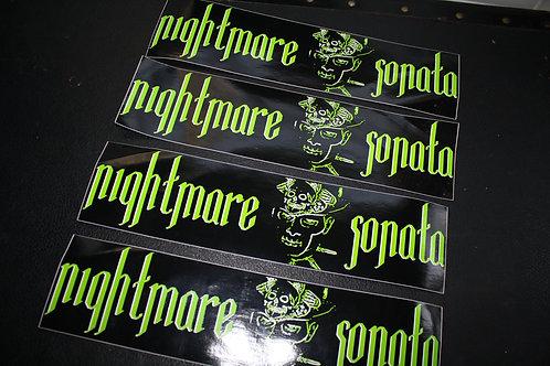 Nightmare Sonata Bumper Stickers