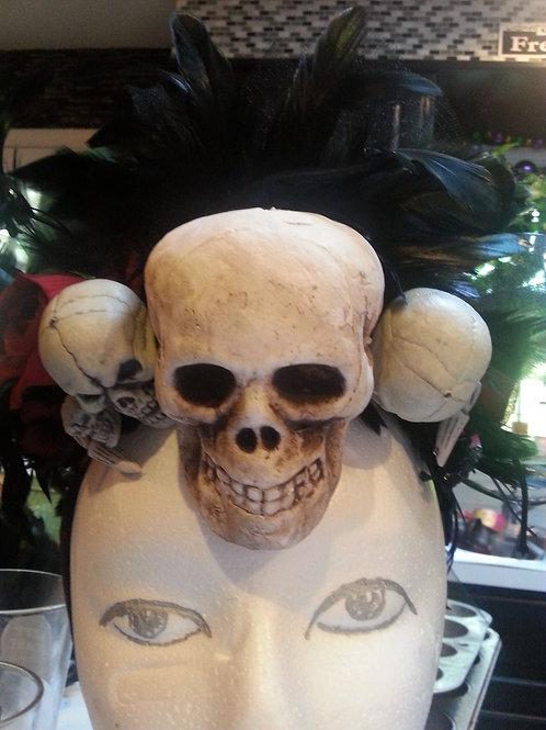 Voodoo priestess headpiece