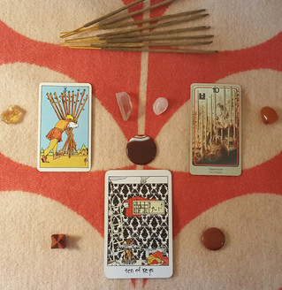Tarot Perspectives: TEN OF WANDS / TEN OF KEYS / OPPRESSION