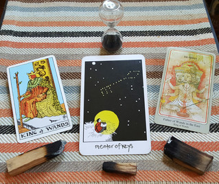 Tarot Perspectives: KING OF WANDS / MENTOR OF KEYS / FATHER OF WANDS IN THE EAST / BRAHMA