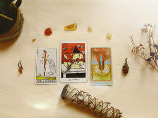 Tarot Perspectives: ACE OF WANDS / ACE OF KEYS