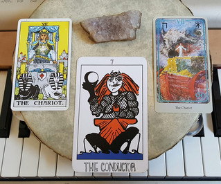 Tarot Perspectives: THE CHARIOT / THE CONDUCTOR