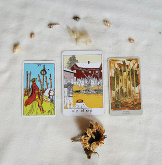 Tarot Perspectives: SIX OF WANDS / SIX OF KEYS / VICTORY