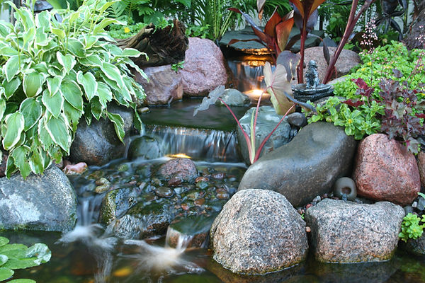 #illinois water features #pond contractor #koi pond #waterfall #pond cleaning