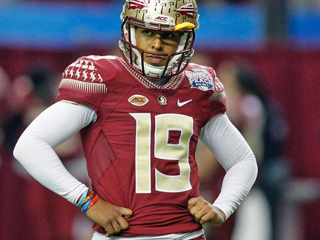 Roberto Aguayo Teed Up And Booted By The Buc's