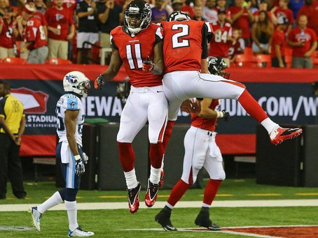 Falcons' Matt Ryan And Julio Jones Break Yardage Records