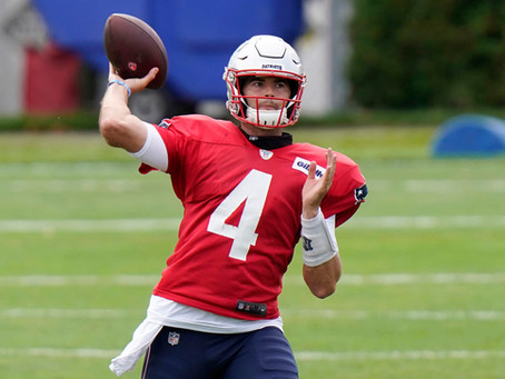 Early Reports On The Starting QB Battle In New England Aren't So Good For Jarrett Stidham