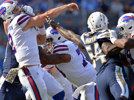 The Chargers Defense Is Really Looking Forward To Seeing Bills' QB Nathan Peterman In Week-2