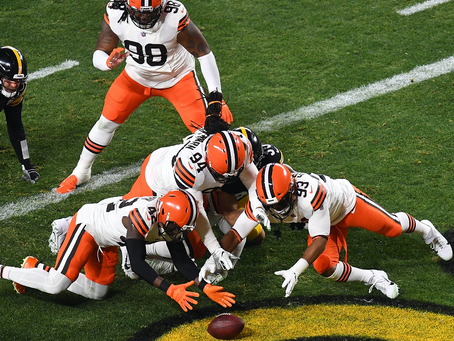 Steelers vs Browns:  Looking Back At The Numbers