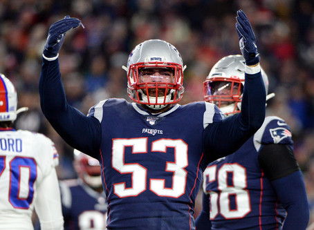 The Patriots Pass-Rush Ranking By Yardbarker.com - It's Quite A Difference From 2019.