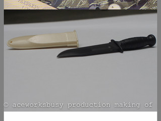 USN Mk 2 Ka-Bar. , Making  of