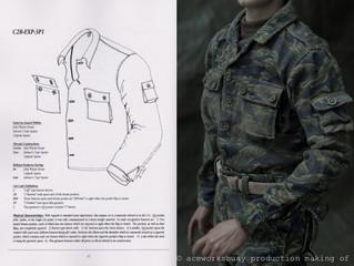 Tiger Stripe combat uniform JWD Pattern Making of, Part III(1)
