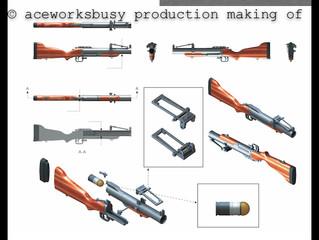 M79 grenade launcher, Making  of