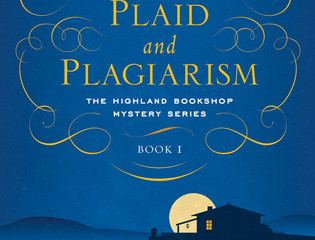 Plaid and Plagiarism a charming debut cozy