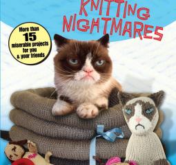 Caturday Reads: Grumpy Cat knits
