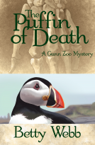 Explore Iceland in Betty Webb's newest mystery The Puffin of Death
