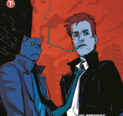 Spencer and Locke - Calvin and Hobbes grown up