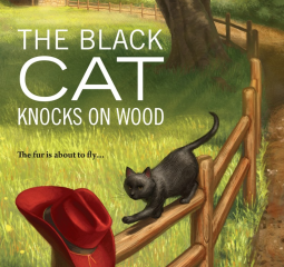 Caturday Reads: This black cat means good luck for readers