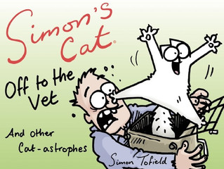 Take a ride on the wild side with Simon's Cat Off to the Vet…and Other Cat-astrophes
