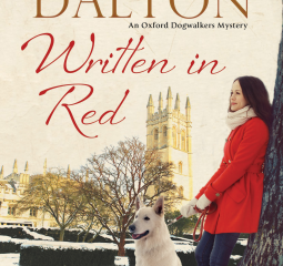 If you love dogs and mysteries, you must read Written in Red