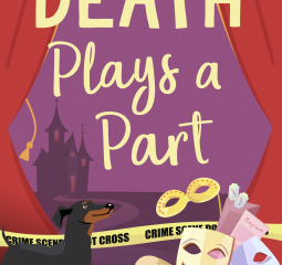 Death Plays a Part is a charming cozy