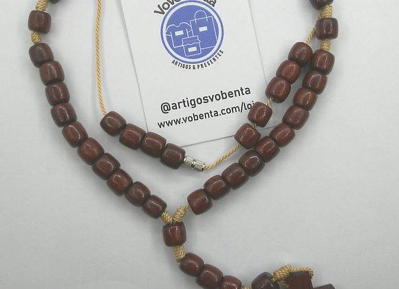 Terço de Madeira - Pescoço - TER002