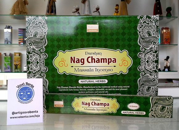 Darshan Nag Champa Natural Herbs - INC047