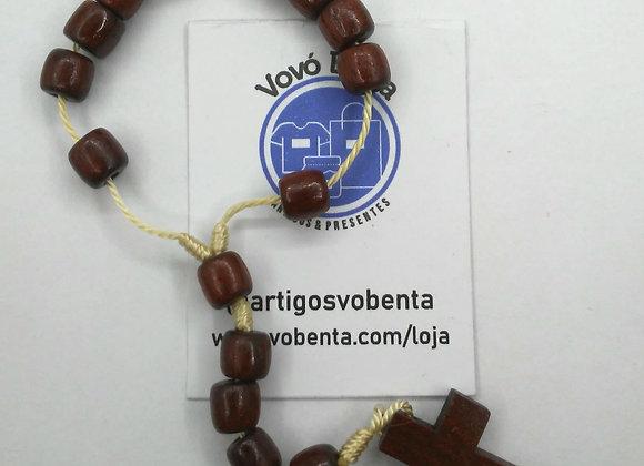 Terço de Madeira - Dezena - TER001