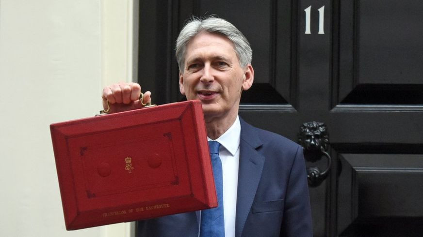 Chancellor Philip Hammond's Budget