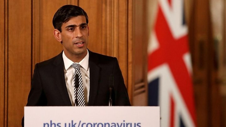 Rishi Sunak promises up to £2,500 per month for self-employed