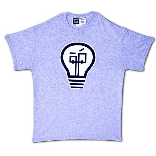 Lighthead 1st Edition Logo T-Shirt Grey