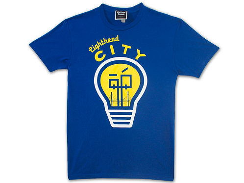Lightheaded City T-Shirt Blue