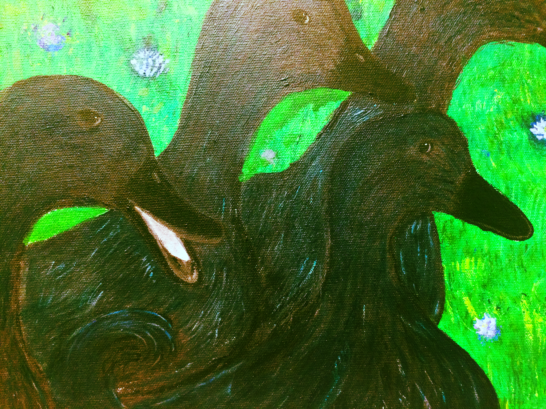"""Cayuga Ducks"" by Lila Shafer"