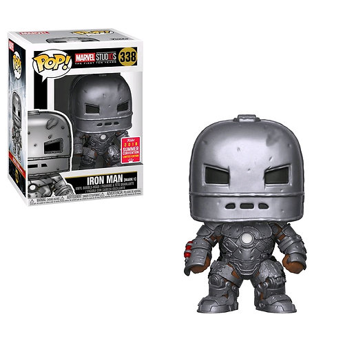 Iron Man - Iron Man Mark 1 10th Anniversary SDCC 2018 US Exclusive Pop!