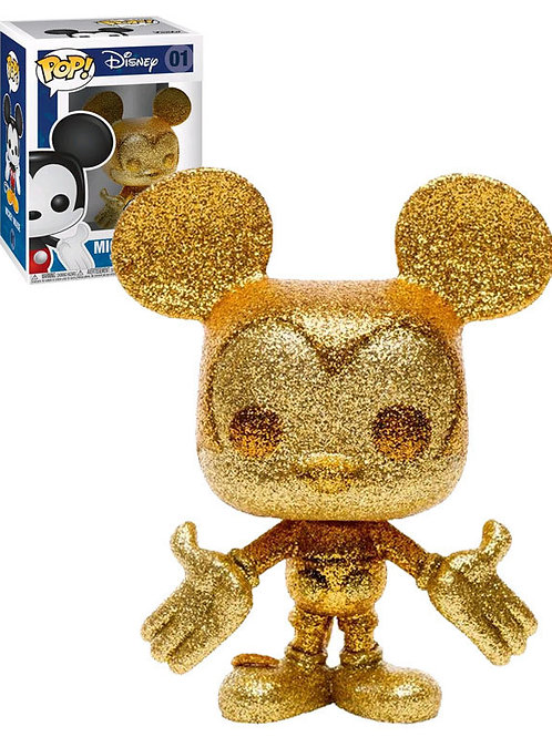 Mickey Mouse - Mickey Gold Diamond Glitter Pop! Vinyl [RS]
