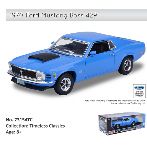 1:18 1970 Ford Mustang Boss 429