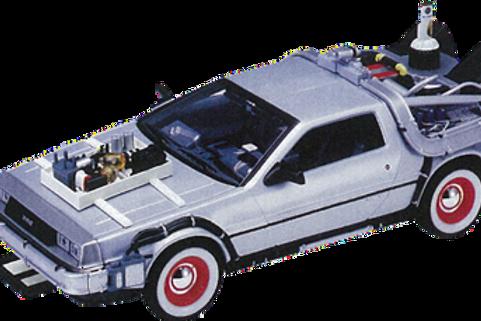 Back to the Future 3 - Delorean - Time Machine