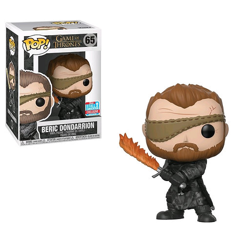 Game of Thrones - Beric Dondarrion with Flame Sword NYCC 2018 Exclusive Pop! Vin