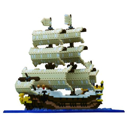 Nano Block Sailing Ship Deluxe