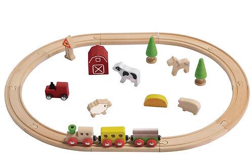 EverEarth Train Set - Farm Train