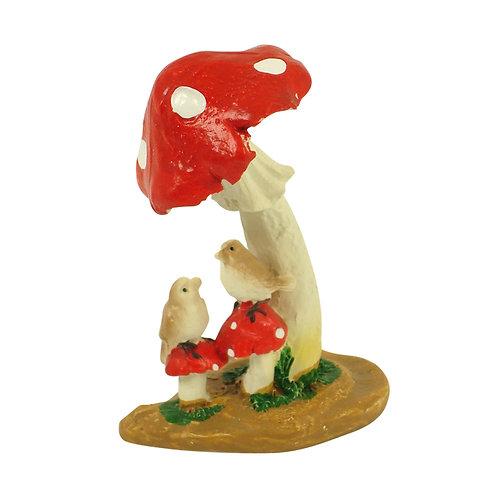 Mushroom w/Birds