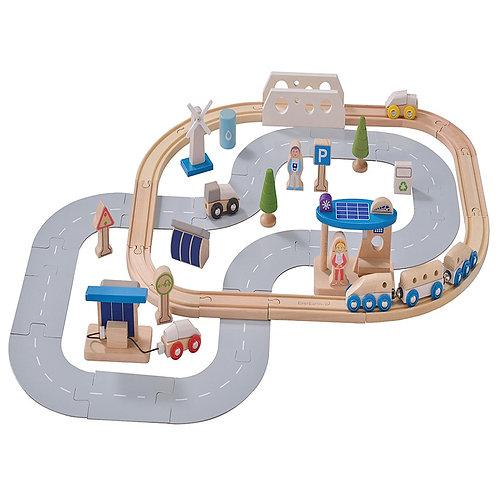 EverEarth Eco-City Train Set