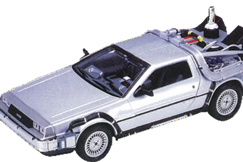 Back to the Future 2 - Delorean - Time Machine