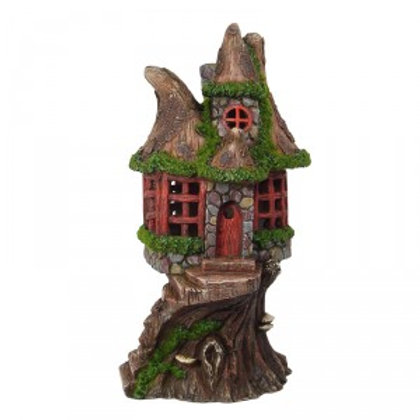 Fairy House w/ Solar Lights - FH22