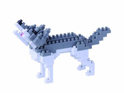 Nano Block Gray Wolf