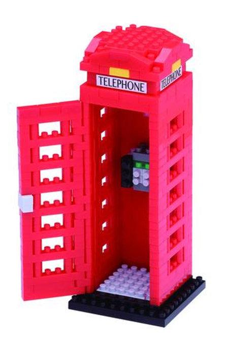 Nano Block Telephone Box